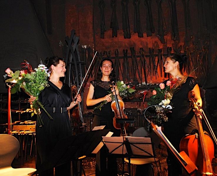 Konzert in der Atelier- und Schmiedewerkstatt Goldberg Variationen von Johann Sebastian Bach