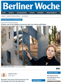 Fritz Kühn in der Berliner Woche | Screenshot Berliner Woche